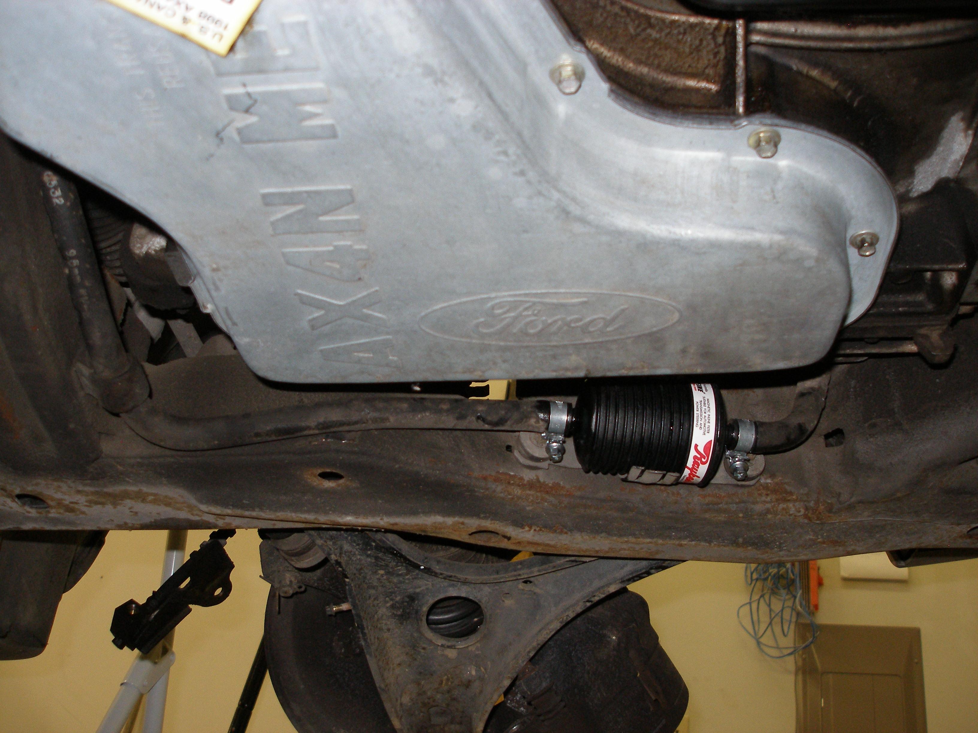 Power steering fluid filter page 2 taurus car club of america ford taurus forum