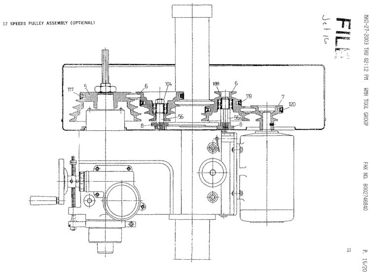 jet 16 milling machine