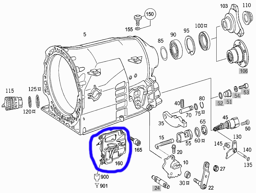 2005 mitsubishi endeavor transmission diagram