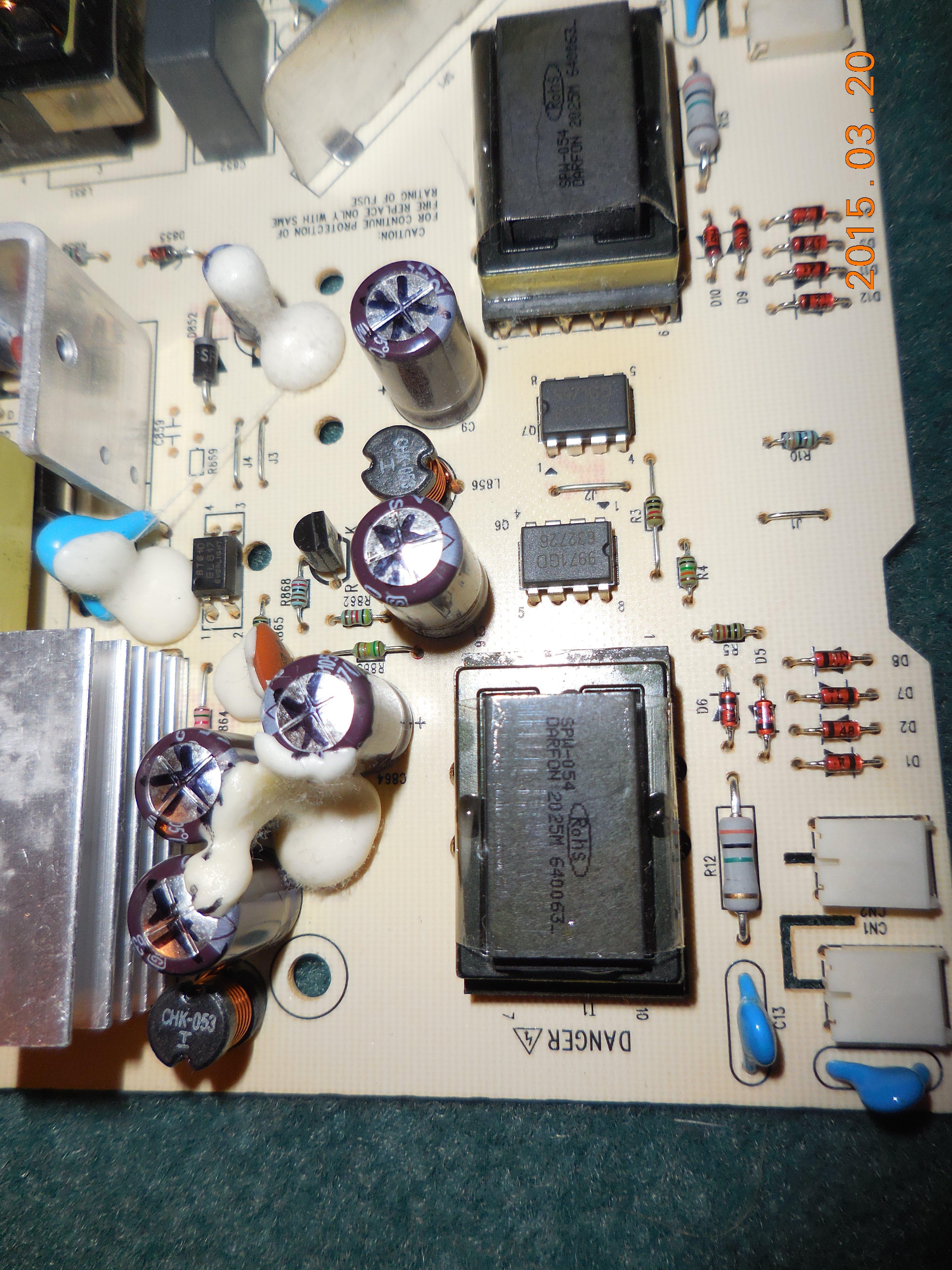 Monitor repair database