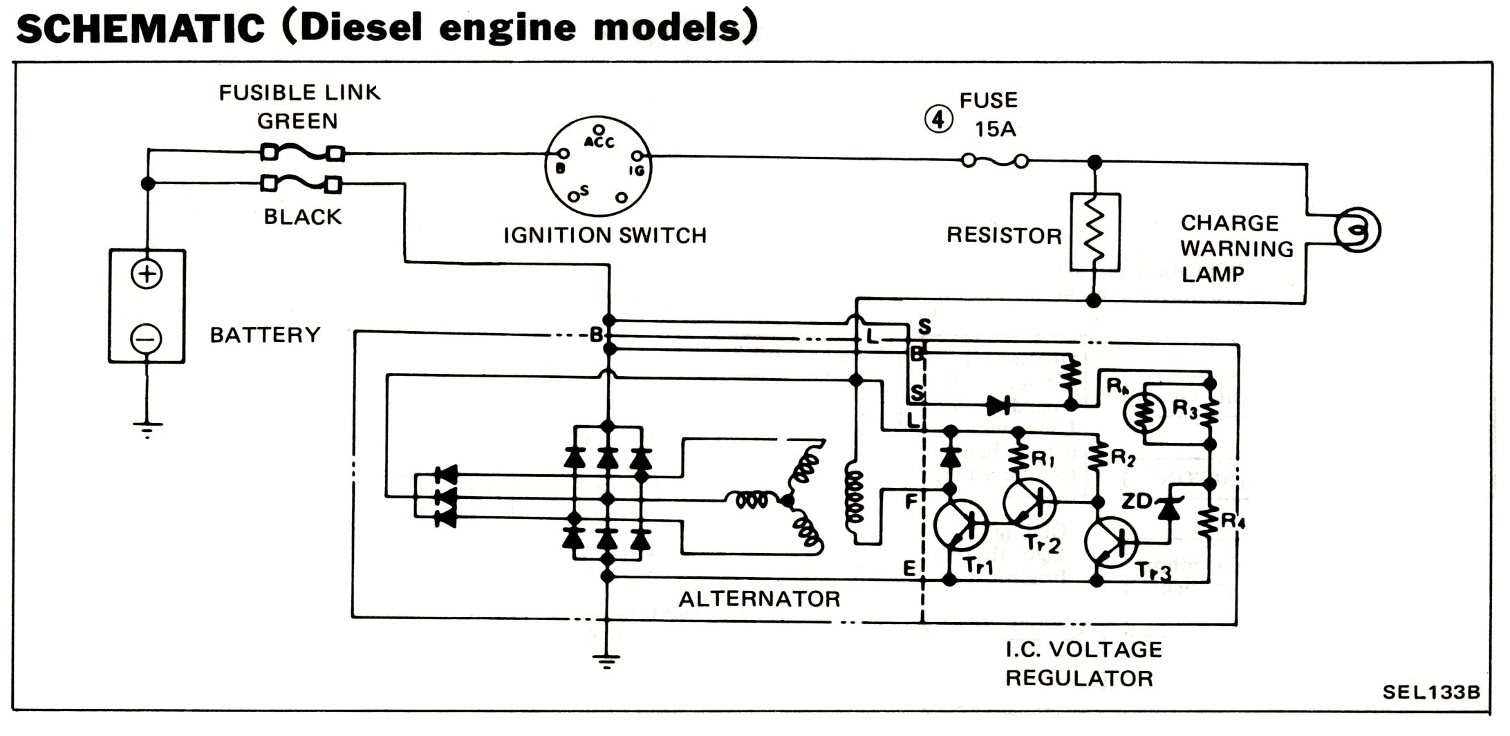 alternator wiring diagram tachometer wiring free printable wiring diagrams