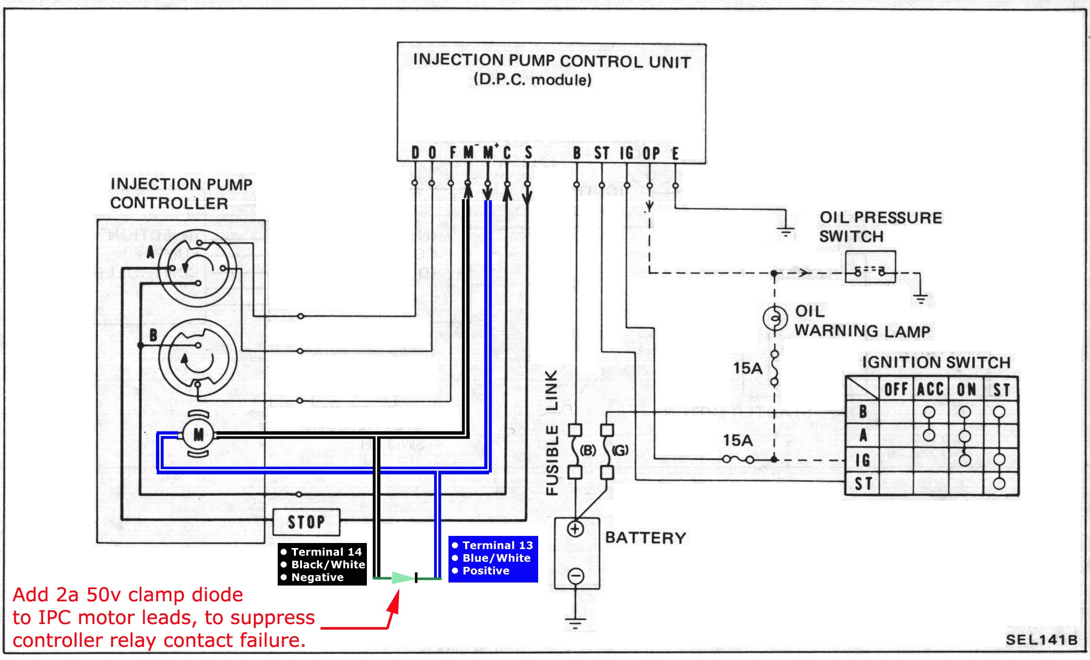 FSM_1982_EL 047_1_b nissandiesel forums \u2022 view topic * dpc module & injection pump 1986 nissan pickup truck wiring diagram at aneh.co