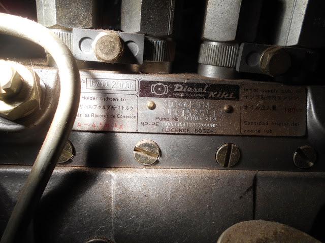 Sd25 Need Info On Diesel Kiki Inline Injection Pump