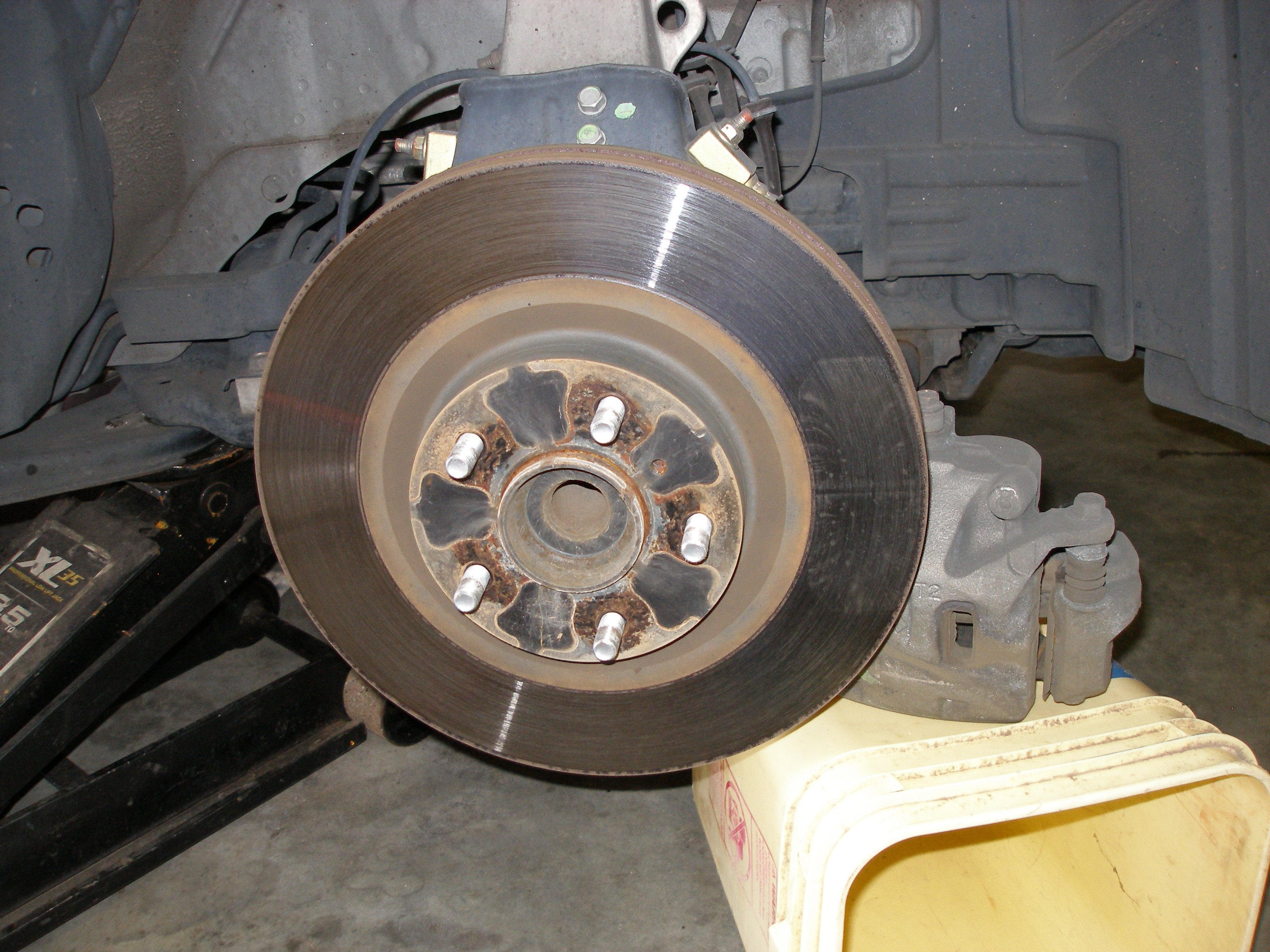Cost Of Brake Pads >> How do you diagnose wheel bearing noise? - Nissan Forum ...