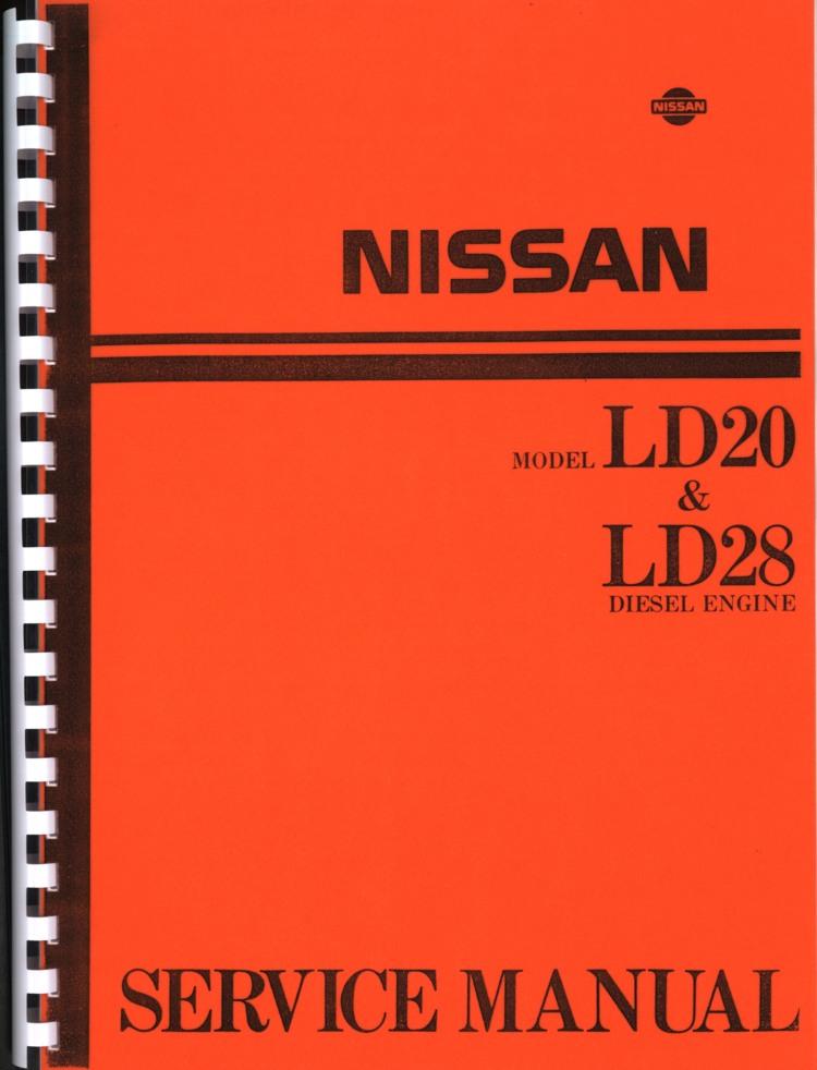 Manual De Motor Nissan Ld28