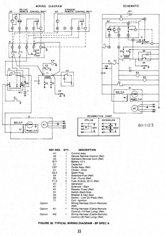 onan service manual for bf  bfa  bga  nh 900 0337 page 33 Onan Engine Wiring Diagram Sensors Onan Ignition Coil Wiring Diagram