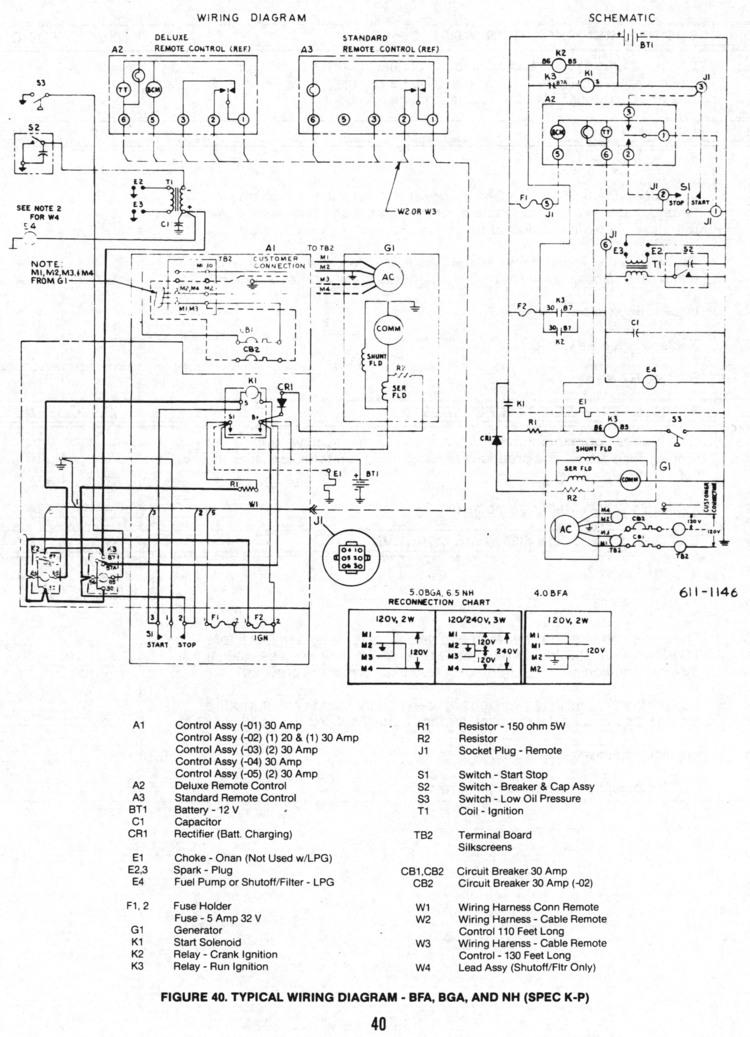 onan service manual for bf bfa bga nh 900 0337 page 40