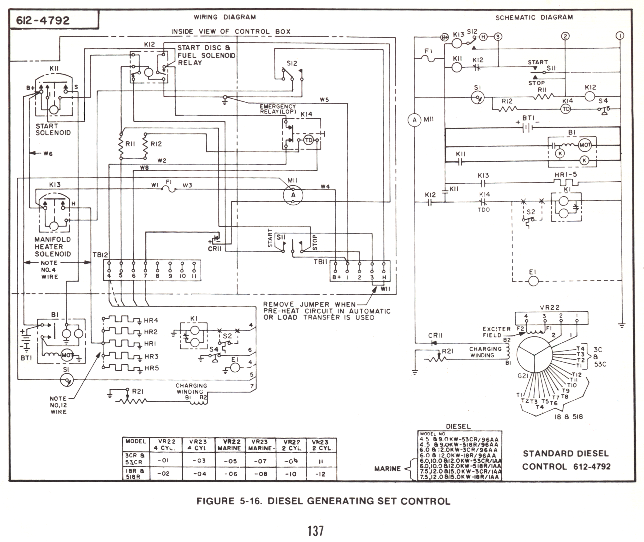Onan_Diesel_Controls_612 4792_b onan wiring diagram onan wiring diagram 611 1127 \u2022 wiring diagrams Champion Generator Owner's Manual at readyjetset.co
