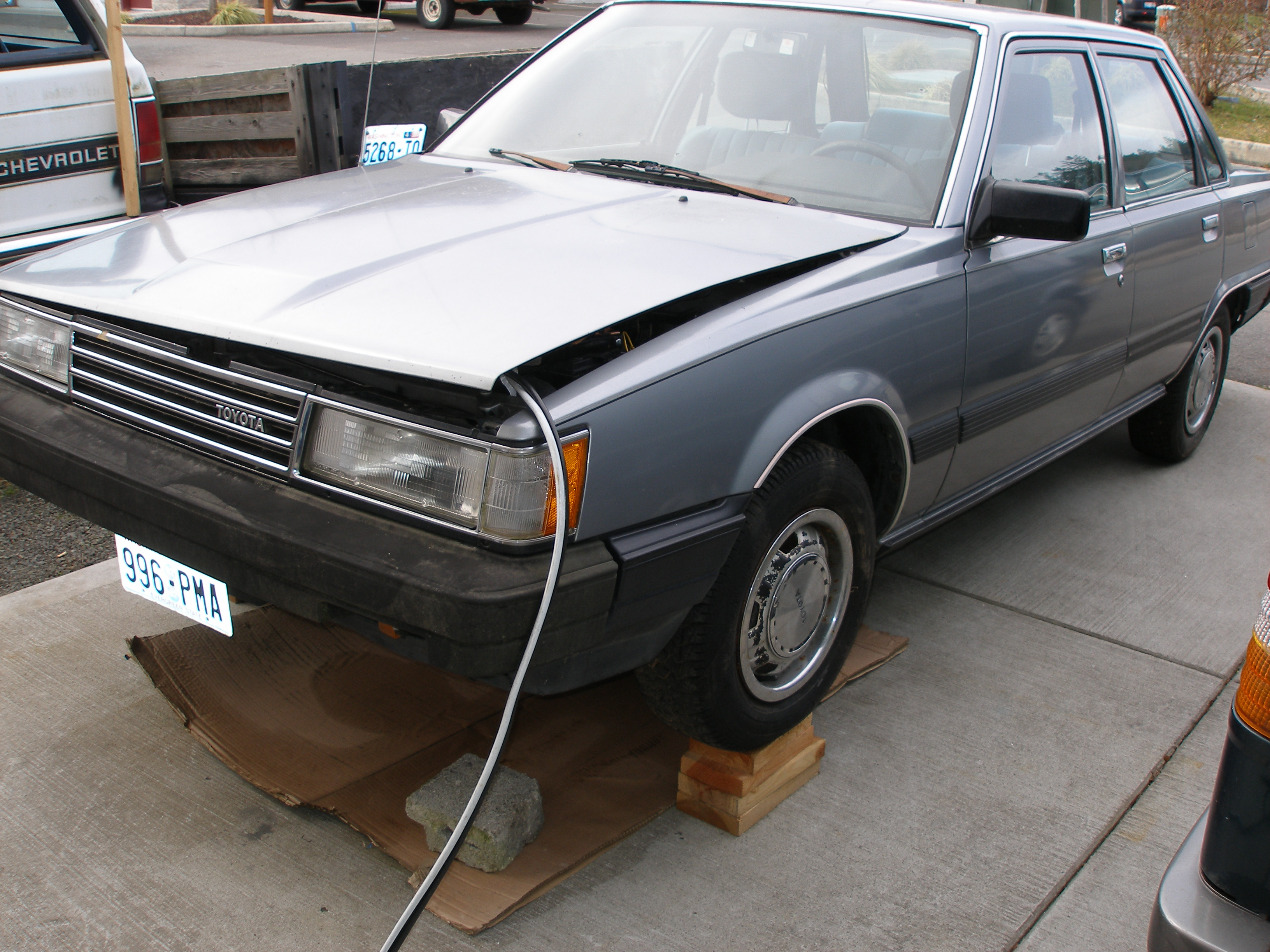 1986 Toyota Camry Owners Manual
