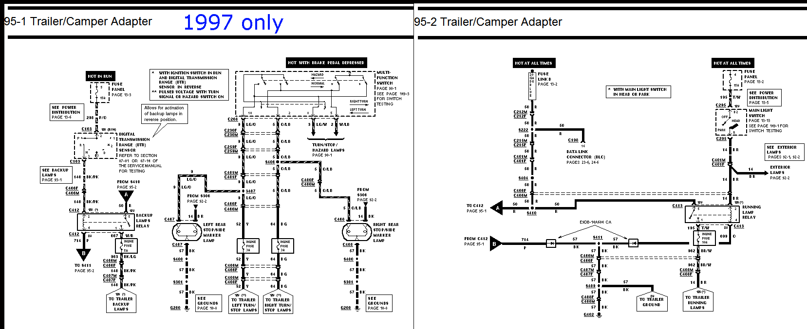 Wiring Diagram For 97 F150 Change Your Idea With Wire Flat Trailer Harness 1997 Ford F 350 Simple Rh 10 Terranut Store