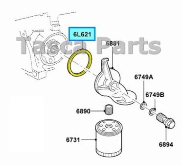 F350 Oil Filter Location