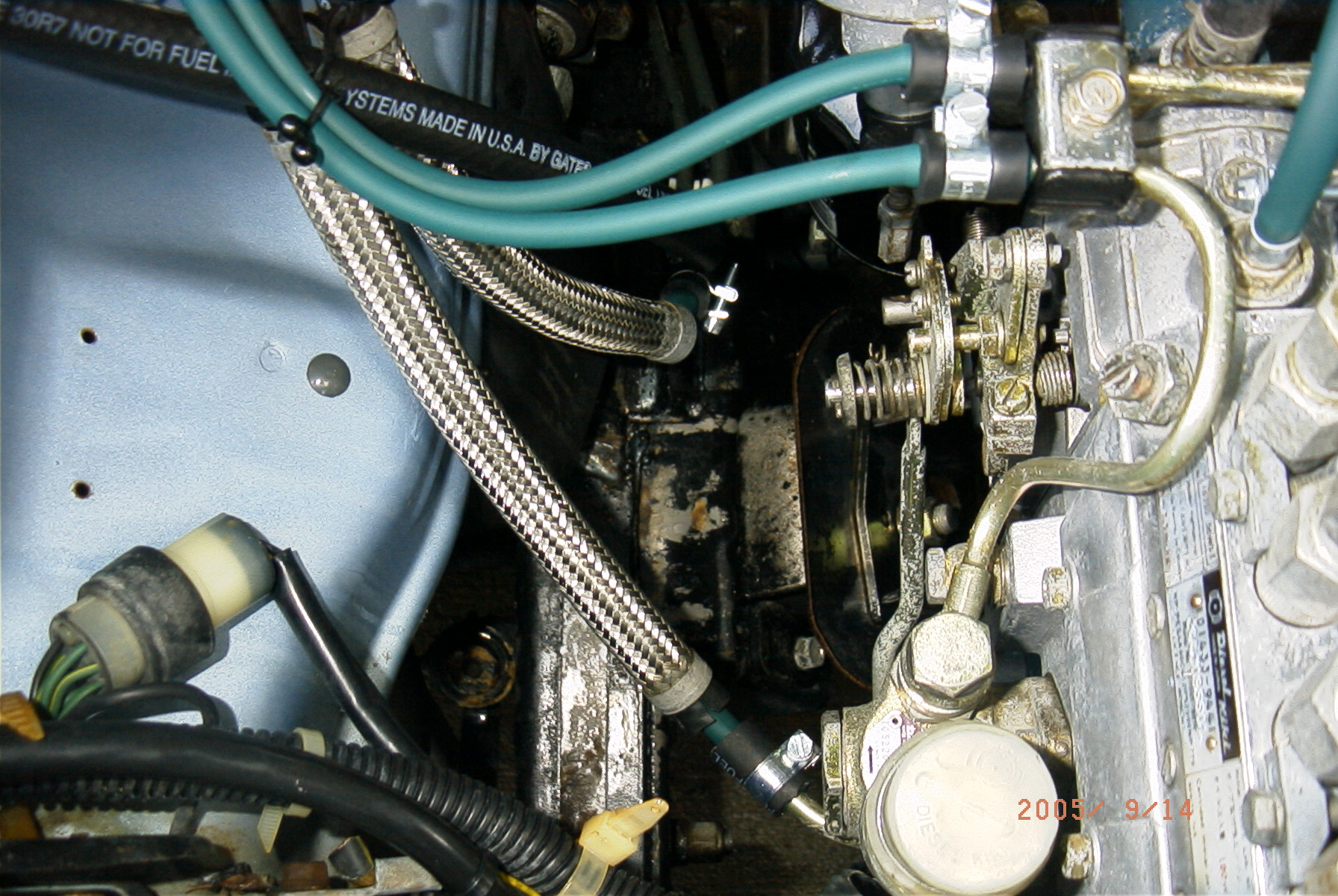 Image ... & NissanDiesel forums u2022 View topic - Biodiesel fuel line replacement ...
