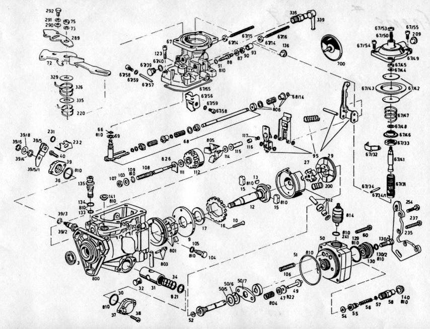 bosch ve injection pump diagram
