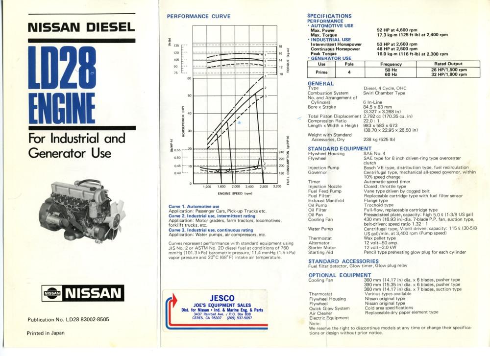 NissanDiesel forums • View topic - Industrial versus ...