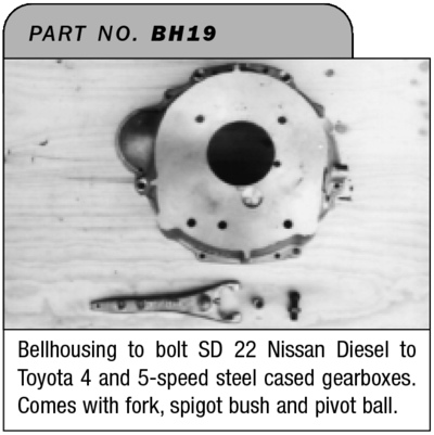 SD22 transmission adapters? - NissanDiesel