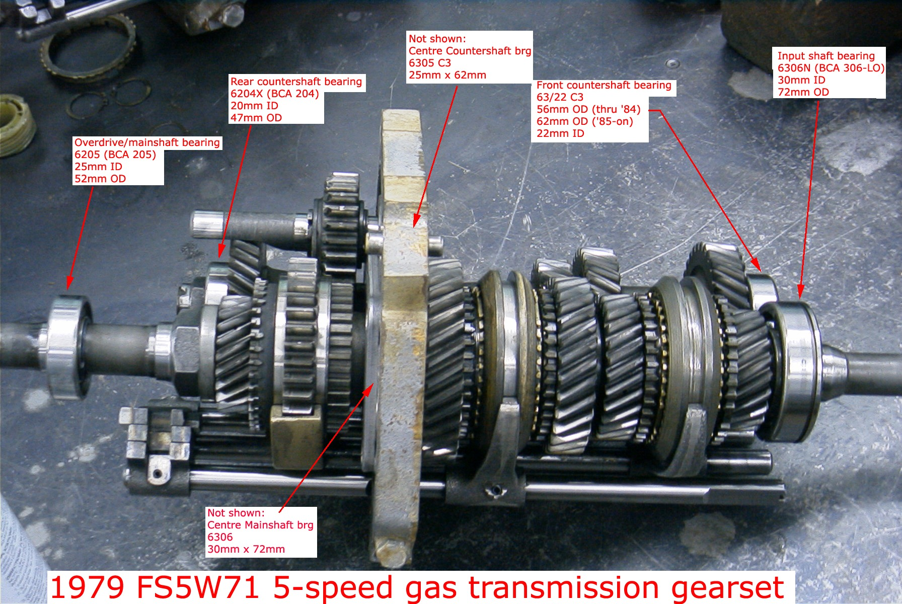 toyota manual transmission gear oil