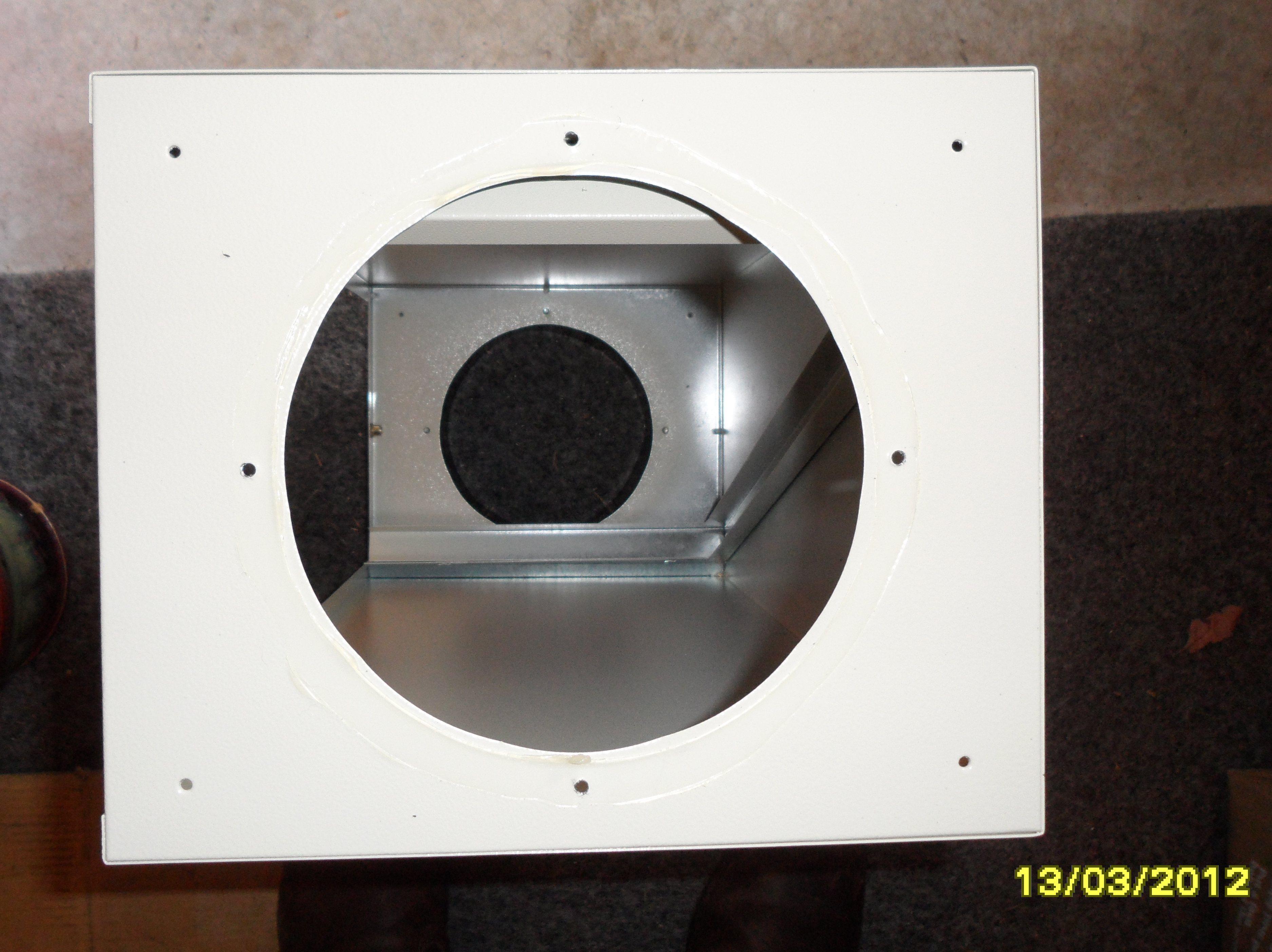 Fantech FB 6 In-line Filter Box w//MERV 12 Filter 6 Duct