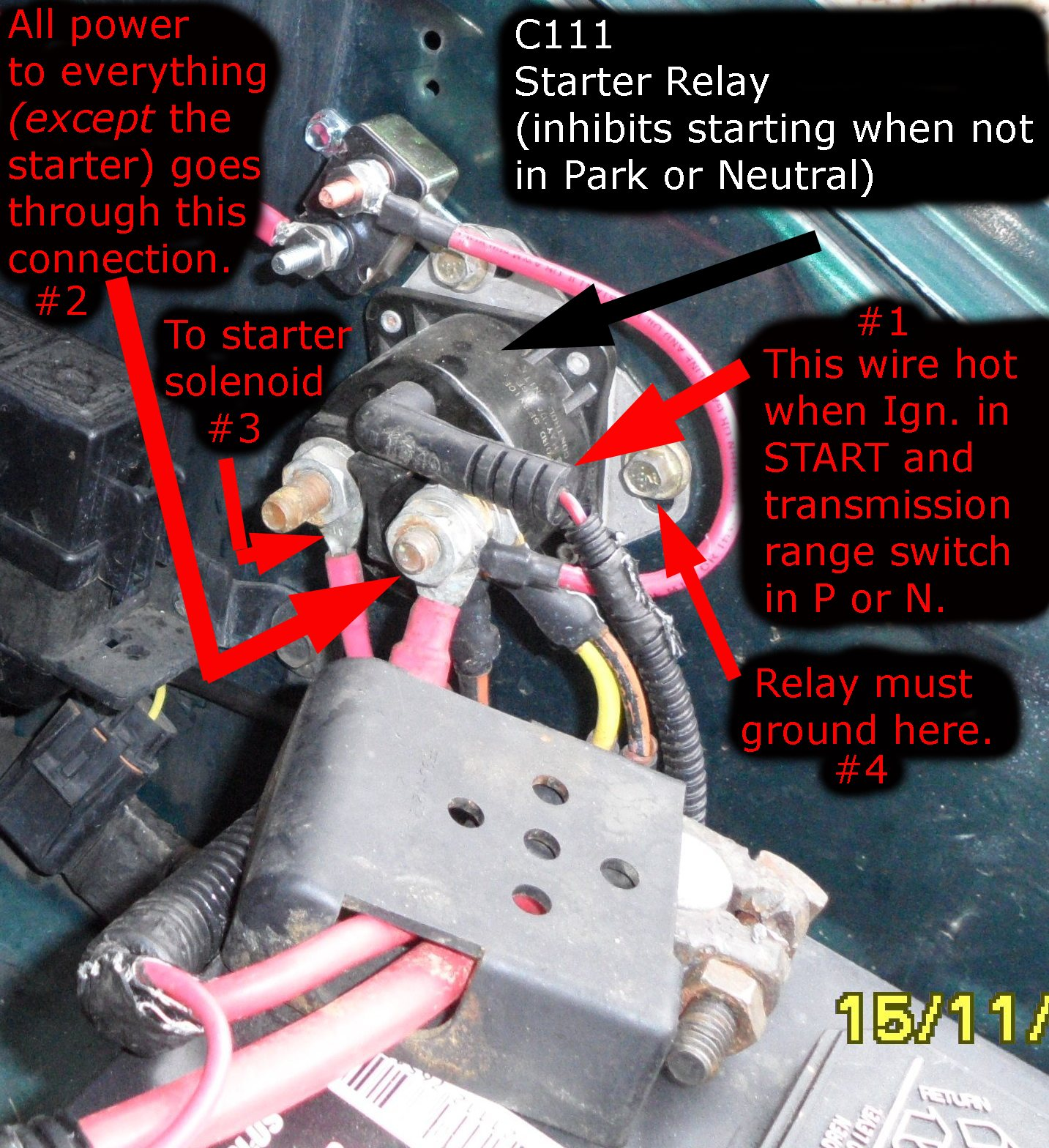 1987 Ford Starter Solenoid Wiring All Kind Of Diagrams F 150 Diagram Help Can T Get Aerostar To Start Page 2 Truck Enthusiasts Forums Bronco