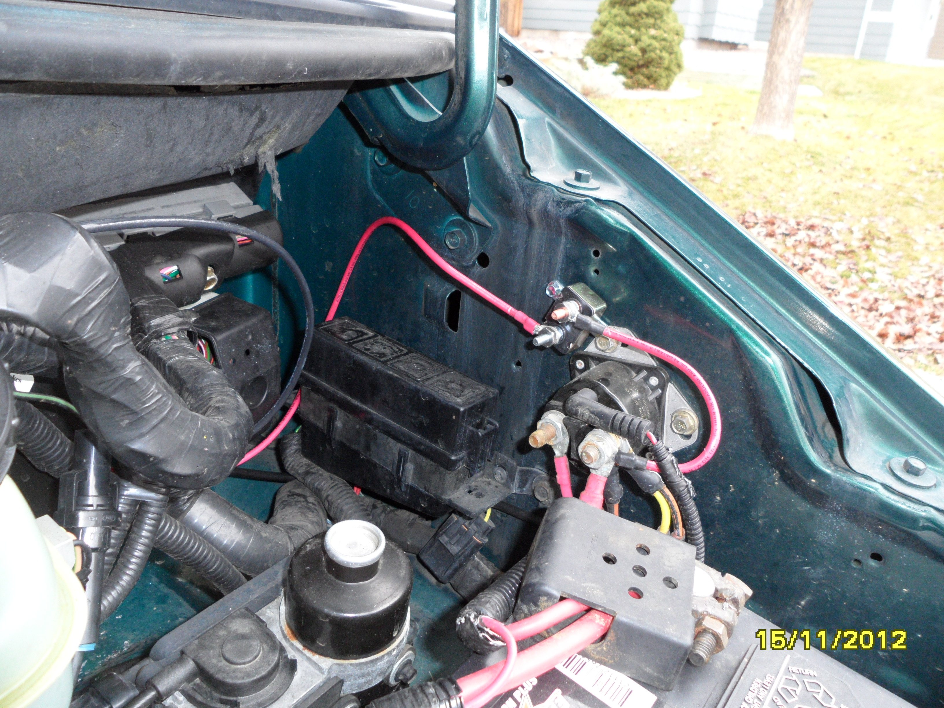 97 Ford Aerostar Wiring Diagram Library Location Of 1997 F150 Speaker 93 Under Hood Relay Get Free Image About