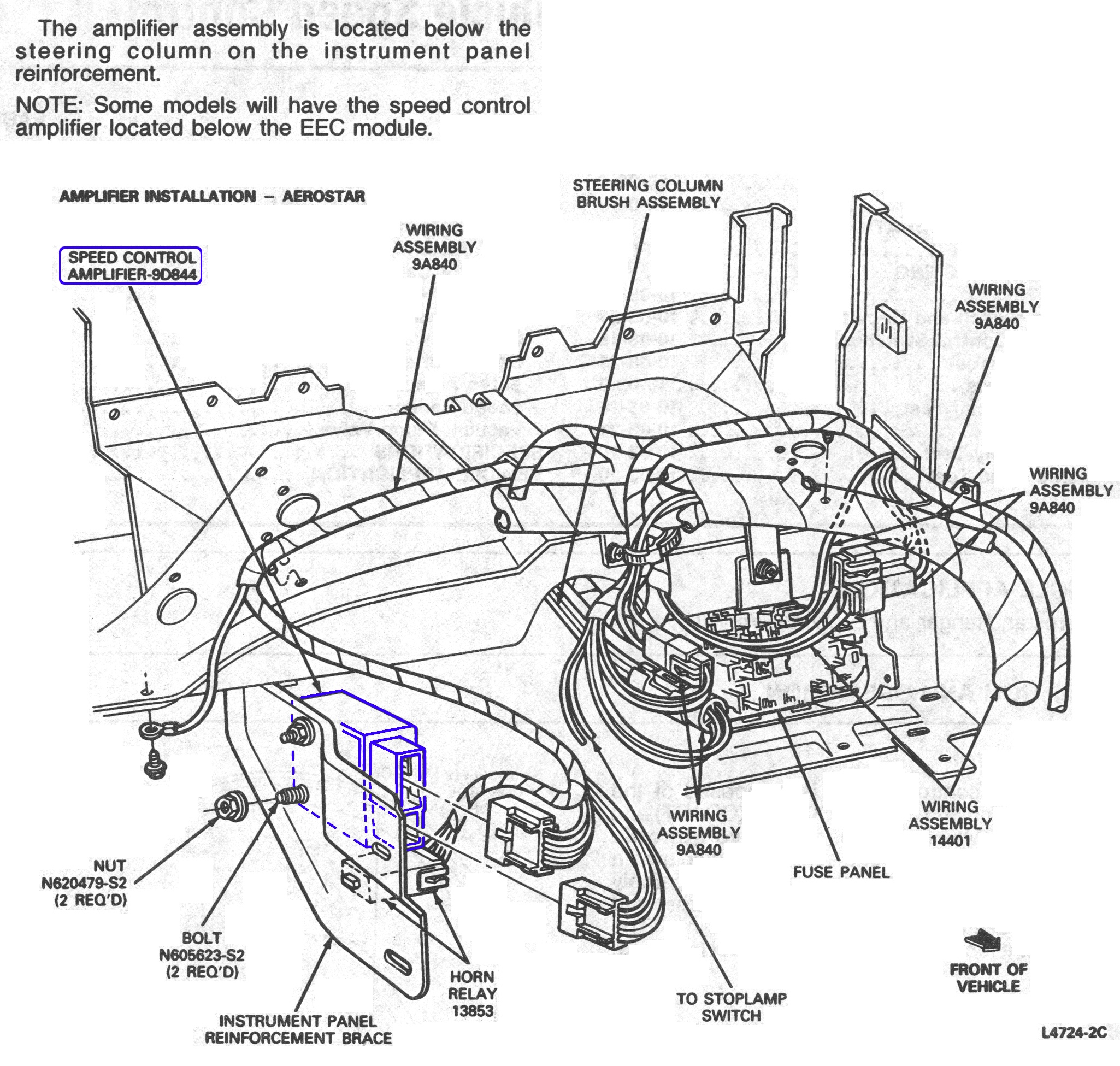 Ford Aerostar Diagram Great Design Of Wiring 1995 Fuse Box 95 Get Free Image 92 1994