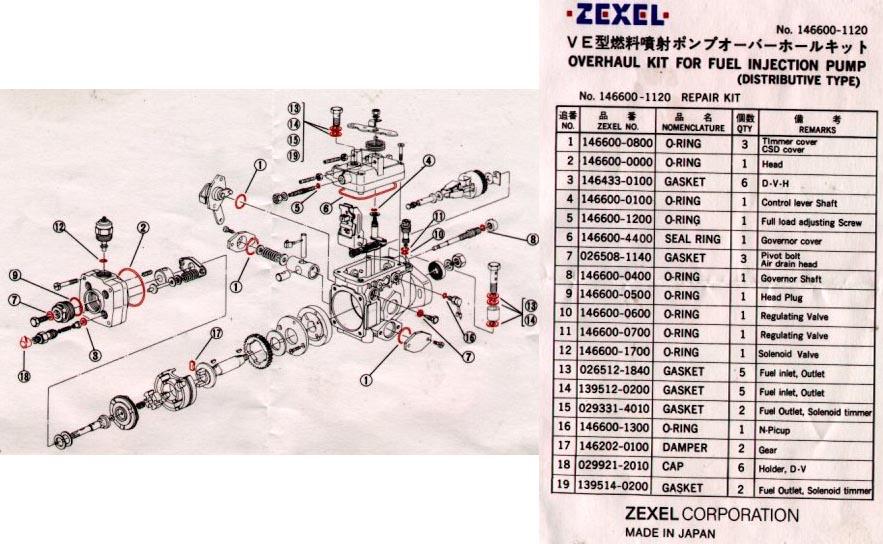 4d56 Injector pump Manual